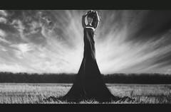 Heaven And Earth: Unspoken (FaustoDiGoethe) Tags: blackandwhite white black canon photography 50mm amazing fantastic earth surrealism fineart surreal fantasy tall concept conceptual t3i surrealismo