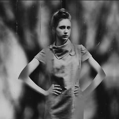emotional vertigo (VesnaSvesna) Tags: bw woman belgrade