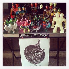 Ministry of Kongz ของเล่นสัตว์ประหลาดไวนิลเพื่อทุกคนที่รักสัตว์ประหลาด+งานสร้างสรรค์. แรงบันดาลใจจากสัตว์ประหลาดไคจูอุลตร้าแมนผสมสัตว์หิมพานต์ไทย ที่ได้รับการคัดเลือกไปโชว์ในงานToyMafia โดยนิตยสาร clutterMagazine จาก นิวยอร์ค และอาร์ตแกลอรี่และงานของเล่นน