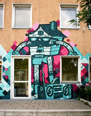 Crackhead (AgeAge) Tags: wedding berlin graffiti mural funky fresh caro orbit crackhead hausderjugend 2013 ageage nauenerplatz kobeone graffitilobbyberlin stanundaxer naunerplatz