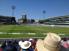 Oval Cricket Ground watching EngvSA 2012