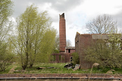 Rune steenfabriek Allershof (Snoek2009) Tags: chimney tree green brickworks steenfabriek rune winsum winsumerdiep onderdendam allershof