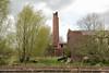 Ruïne steenfabriek Allershof (Snoek2009) Tags: chimney tree green brickworks steenfabriek ruïne winsum winsumerdiep onderdendam allershof