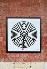 Labyrinth 243/270 (R~P~M) Tags: ladbrokegrove hammersmithcityline train railway station art enamel vitreousenamel wallinger labyrinth londonunderground london england uk unitedkingdom greatbritain