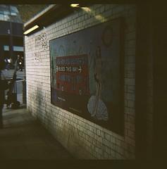 DianaF+ - 1st Roll - Colour (KCMei_) Tags: dianaf lomo lomography london wimbledon waterloo strand 120film kodak portra