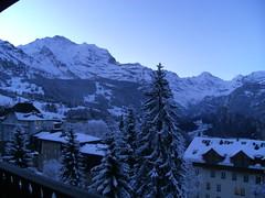 ... ... ...Guten MOrgen... ... ... (project:2501) Tags: wengen jungfrauregion suisse switzerland snow ski travel hotel hotelbelvédère hotelroom artnouveau 1912 view aroomwithaview balcony theviewfromhere morning morninglight bluelight blue bluebleu bleu sunrise inthemountains mountains mountain rock pinetrees alpinefauna wengen1274m jungfrau4158m breithorn3782m tschingelhorn3557m gspaltenhorn3437m