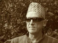 Me as Nepali Dai with topi ;-) (jojothepojo) Tags: nepali nepal tupi dai jodai