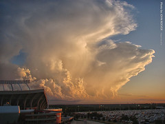 Storm clouds southwest of The K, 8 July 2016 (photography.by.ROEVER) Tags: kansascity missouri usa july 2016 july2016 weather storm storms cloud stormcloud stormclouds thunderstorm thunderstorms