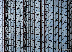 Midtown Reflections (Joel Raskin) Tags: reflections reflectiveglass lines angles diagonals parallelograms geometric patterns glassfacade nyc midtown manhattan architecture archshot