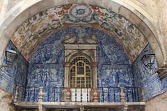 Obidos (hans pohl) Tags: portugal obidos fenêtres windows portes doors façades faïences azujelos architecture arches balcons balconys