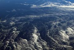 2017_04_10_lhr-ewr_020 (dsearls) Tags: 20170410 aerial windowseat windowshot united unitedairlines ual ua17 lhrewr ocean blue white ice icebergs patterns aviation flying longhaul flight north newfoundland grandbanks