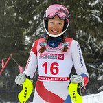 April 15th, 2017 - Selina Egloff of Switzerland takes first place in the U16 McKenzie Investments Whistler Cup Womens Slalom - Photo By Jon Hair- coastphoto.com