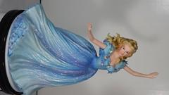 Cinematic Moments Cinderella Figurine by Enesco (2015) (drj1828) Tags: us enesco cinematicsmoments liveactionfilm cinderella lilyjames blue ballgown figurine 8inch