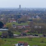Onze-Lieve-Vrouw-Waver en Mechelen vanuit de kerktoren thumbnail