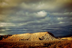 Basking in Sun (Never Exceed Speed) Tags: landscape scenery sunset utah ridge plateau mountain hill clouds color