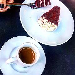 Espresso and Red Velvet (diduenjoyit) Tags: redvelvet coffeegram coffee coffeeaddict coffeelovers indonesia tiramisu bali cafelife egyptiani espresso caffeine instacoffee coffeeoftheday enjoyitwith coffeeholic starbucks enjoy coffeelife coffeelover yummy drink cafe