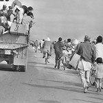 Quang Tri 1972 - People Flee on Foot, Bike and Truck thumbnail