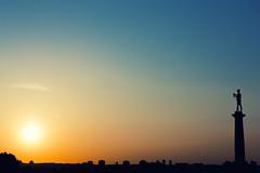 Klasika (Zoki Toki) Tags: beograd belgrade 6d canon pobednik victor sunset zalazak monument