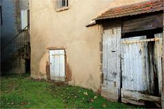 doors........ (atsjebosma) Tags: doors deuren decay ddd colourful wall verwaarlozing lapalisse lafrance frankrijk atsjebosma march maart 2014