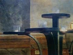 Mémoire - Memory (jeanfenechpictures) Tags: mémoire memory memoria bougies candles velas mur wall muro texture eglise church iglesia marbre mármol marble flamme llama flame chapelle capilla chapel interieur inside interior