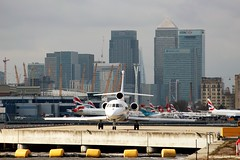 M-GSIR Dassault Falcon 900DX (R.K.C. Photography) Tags: mgsir dassault falcon900dx 614 sublimeholdings london england docklands newham canarywharf city skyline silvertown aircraft bizjets terezajoanne londoncityairport lcy eglc canoneos100d