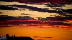 Black clouds at sunset (nikondudefin) Tags: pilvet summer colours sunset auringonlasku nature finland nikond610 sky toholampi cloudporn scenery nikkorafs283003556 clouds