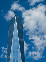 One World Trade Center, New York City (jag9889) Tags: 1wtc 1776 2017 20170418 285fultonstreet architecture building cloud freedomtower groundzero lowermanhattan manhattan ny nyc newyork newyorkcity oneworldtradecenter outdoor sky skyscraper usa unitedstates unitedstatesofamerica wtc worldtradecenter jag9889