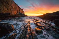 Bald Head Cliff (BenjaminMWilliamson) Tags: attraction cliffs coast coastal coastline icon iconic image landmark landscape me maine nubble ocean ogunquit perkinscove photo photography rocky scenery scenic seascape shore shoreline tourism tourist usa york
