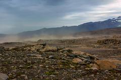 Sandstorm on the Fimvörðuháls trail, Iceland (thorrisig) Tags: 17082012 fimmvörðuháls himininn sandfok iceland ísland island icelandicnature íslensknáttúra landscape landslag southiceland southoficeland thorrisig thorfinnursigurgeirsson þorrisig thorri thorfinnur þorfinnur þorri þorfinnursigurgeirsson desert sandstorm vastness wilderness outdoors suðurland