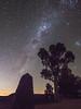 Milky Way (WombatCat) Tags: milkyway night longexposure stars light pollution