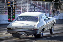 Hooked up (Paul Rioux) Tags: automobile motorsport drag racing westernspeedway victoria westshore outdoor vehicle racecar performance modified chevrolet chevelle wheelstand wheelie startline greenlight prioux competition traction sislra southislandstraightlineracingassociation