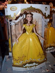 LA Belle 17 Inch Doll Release at the Disney Store - 2017-03-17 - Checkout - My LE Belle Doll (drj1828) Tags: us disneystore beautyandthebeast liveactionfilm belle ballgown yellow 2017 limitededition le5500 release instore purchase