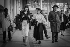 The Smoker (Bill Morgan) Tags: fujifilm fuji x100f jpeg bw street kichijoji tokyo