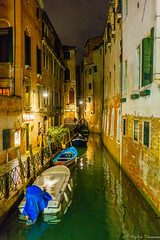 Venice at Night (martintimmann) Tags: loxia235 canal venice e night availablelight venezia veneto italien it