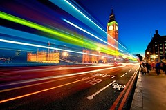 Examples Of Motion Blur Photography (ddaniellevan) Tags: bigben blur bus clocktower doubledeckerbus england london longexposure night nikon nomadicpursuits travel uk
