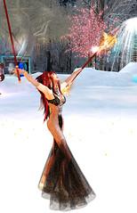 TerraMerhyem_2016_Fire Witch 2 (TerraMerhyem) Tags: fire witch beauty terramerhyem terra merhyem extasy transe shaman dance dancer firedance sorcery magic fireritual
