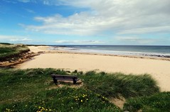 Bench with a View. St Combs, Aberdeenshire (HighlandArt13) Tags: stcombs aberdeenshire fraserburgh coast sea beach bench summer scotland