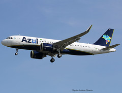 AZUL Linhas Aereas Brasileiras. Airbus A320 NEO. (Jacques PANAS) Tags: azul linhas aereas brasileiras airbus a320251nwl pryrh fwwid msn7494