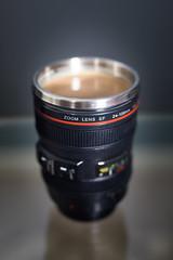Photographer Coffee (Szhlopp) Tags: 7dwf coffee photography cup java bean bokeh lowf canon 5g mark iv indoor shoot gold sunlight camera drink food