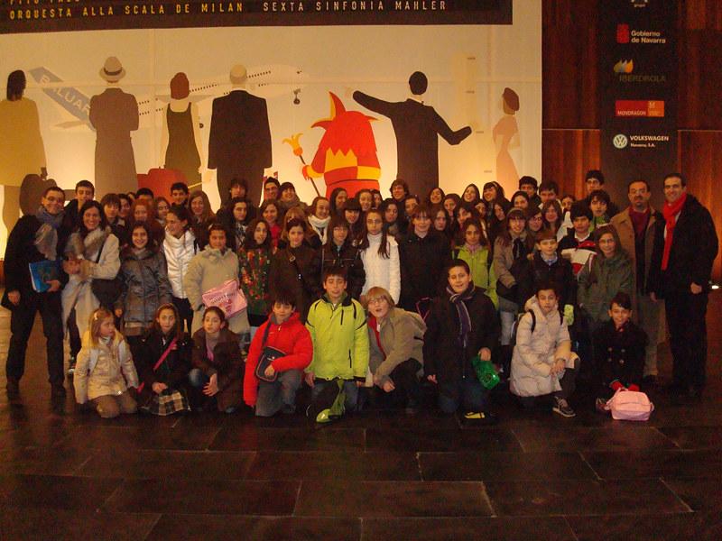 """Salida al palacio de Congresos"" Auditorio Baluarte (Pamplona)"
