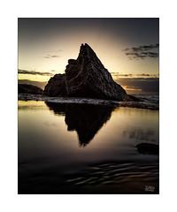 Bungan Peak (Mike Hankey.) Tags: bungan seascape focus sunsrise lowtide published cloudless