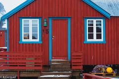 Å lofoten (Norway) (renan4) Tags: a lofoten redhouse norway north europe scandinavian trip travel red wood fisherhouse sea nikon d800 renan4 renan gicquel