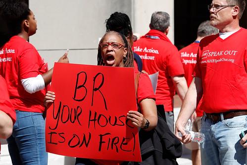 Baton Rouge Protest