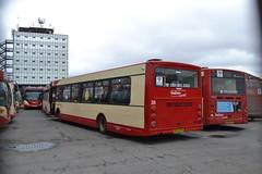 Halton Transport 38 DK03NTE & 7 AJ58PZL (Will Swain) Tags: widnes 12th march 2017 halton borough transport bus buses travel uk britain vehicle vehicles county country england english north west town 38 dk03nte 7 aj58pzl
