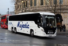 Majestic (YN66 WSK) Scania Trafalgar Square (Copy) (focus- transport) Tags: westbus turners travel de courcey three star coaches theobalds stagecoach oxford megabus tube skills natex national express redwing eurolines mitcham belle majesticlondon united motorcoaches heyfordian go ahead first berkshire evan evans arriva shires airport bus volvo b9r b9tl b11rt b11r b12b van hool acron astromega t917 tdx27 mercedesbenz tourismo wright gemini eclipse scania k360 k340 k410ud plaxton panther elite neoplan caetano levante berkhof green line