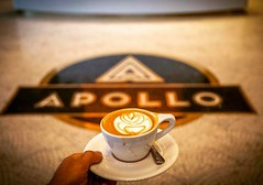 On the 49th anniversary of @hstreetne destruction after the assasination of Martin Luther King, Jr. Washington, DC @theapollodc @thewydown #coffee #dc #instadc #capuccino #activetransportation