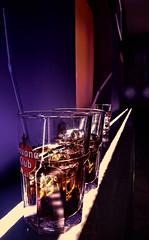 In the Club (A.B. Art) Tags: drink getränk bär club lokal megustabar megusta wien vienna abart austria starburst911 glas gläser strohhalm licht light cubalibre colarum sony