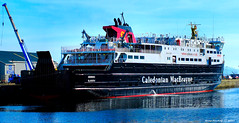 Scotland Greenock ship repair dock car ferry Hebrides 27 March 2017 by Anne MacKay (Anne MacKay images of interest & wonder) Tags: scotland greenock ship repair dock caledonian macbrayne car ferry hebrides xs1 27 march 2017 picture by anne mackay