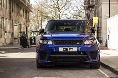 SVR (Photocutout) Tags: cars supercars sportscars photocutout worldcars london mayfair range rover rangerover
