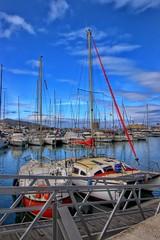 IMG_1259 (anyera2015) Tags: ceuta canon canon70d puerto puertodeportivo barcos veleros hdr costa